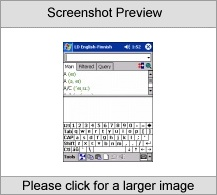 LingvoSoft Talking Dictionary English <-> Finnish for Pocket PC Screenshot